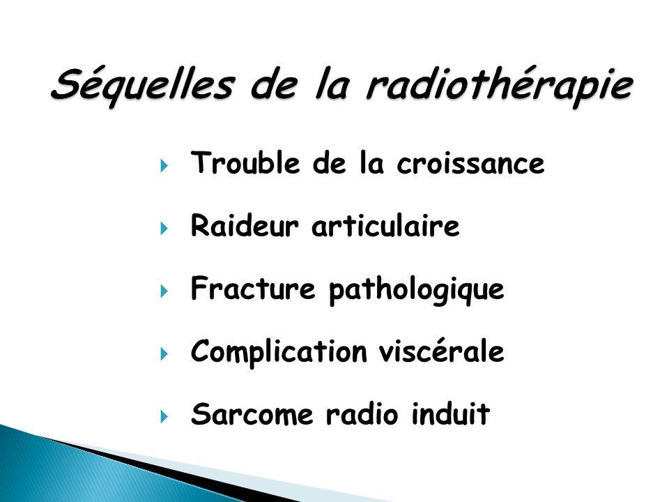 Séquelles de la radiothérapie