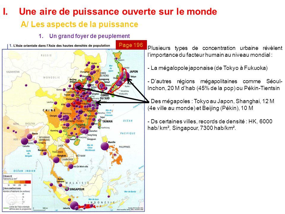 Grand Foyer De Peuplement : L asie orientale une aire de puissance en expansion ppt