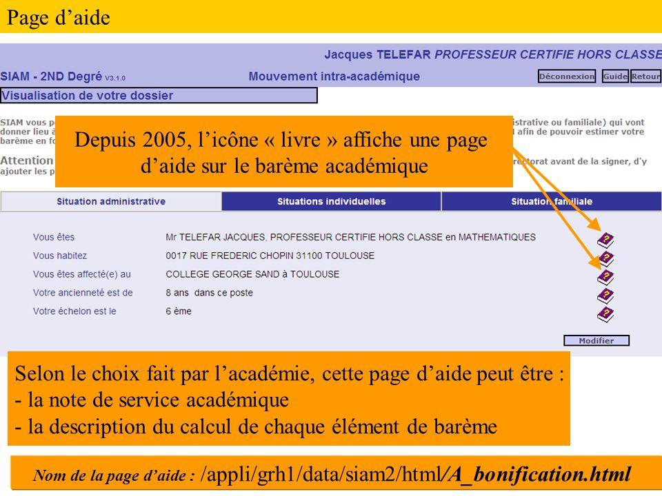 Depuis 2005, l'icône « livre » affiche une page
