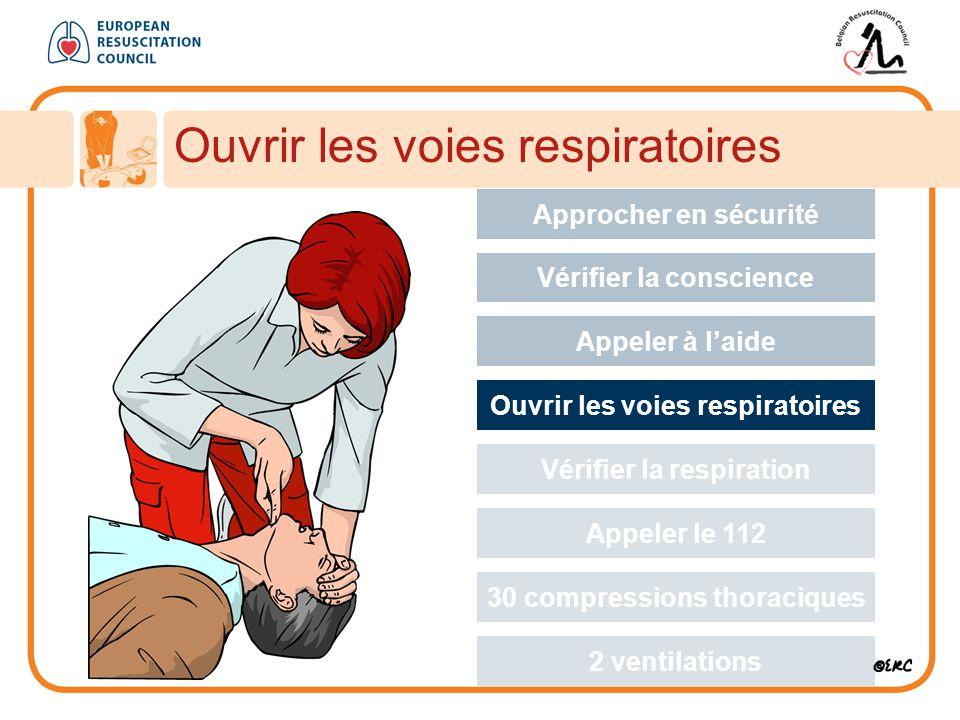Ouvrir les voies respiratoires