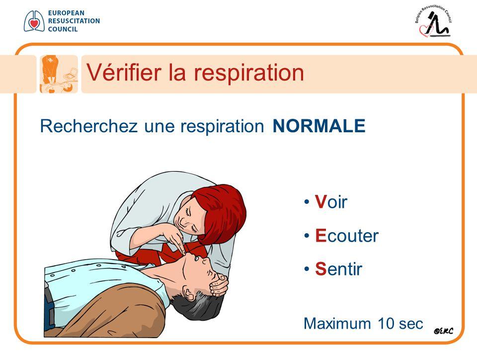 Vérifier la respiration