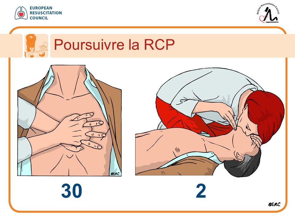 Poursuivre la RCP 30 2