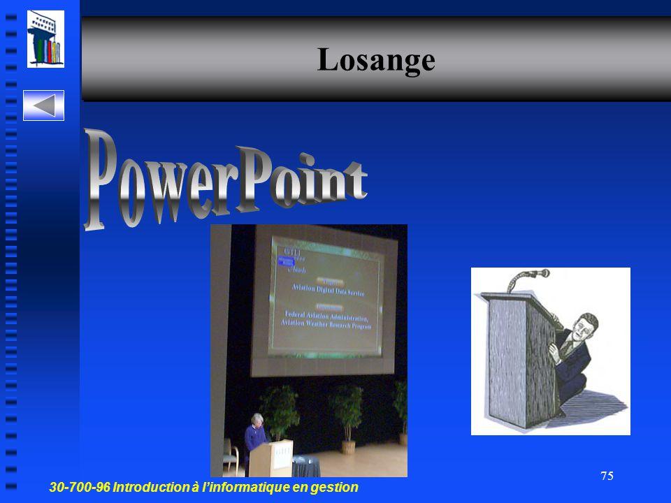 Losange PowerPoint