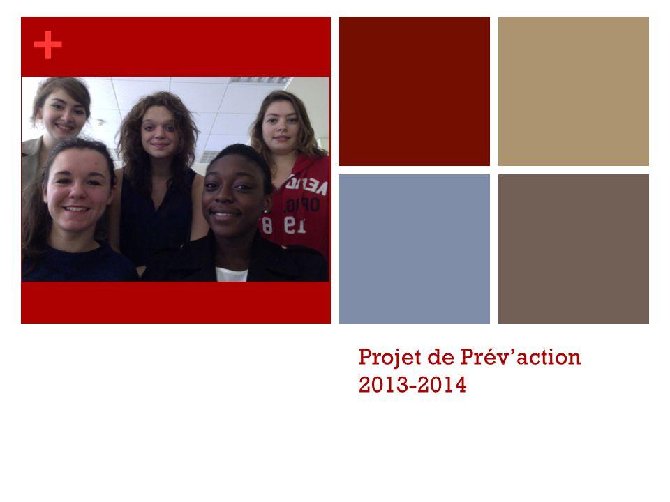 Projet de Prév'action 2013-2014