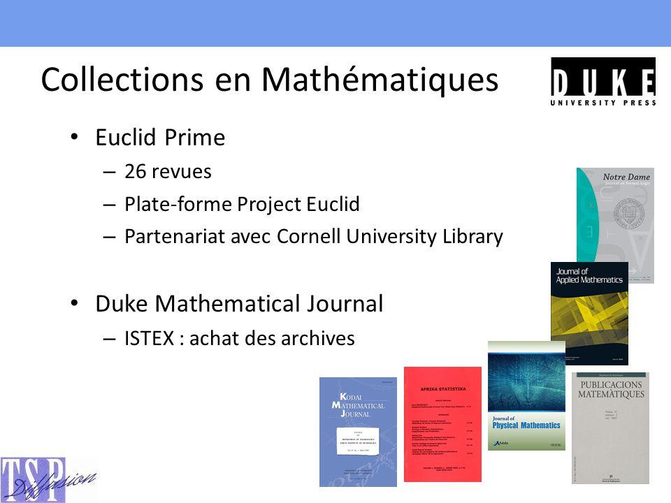 Collections en Mathématiques