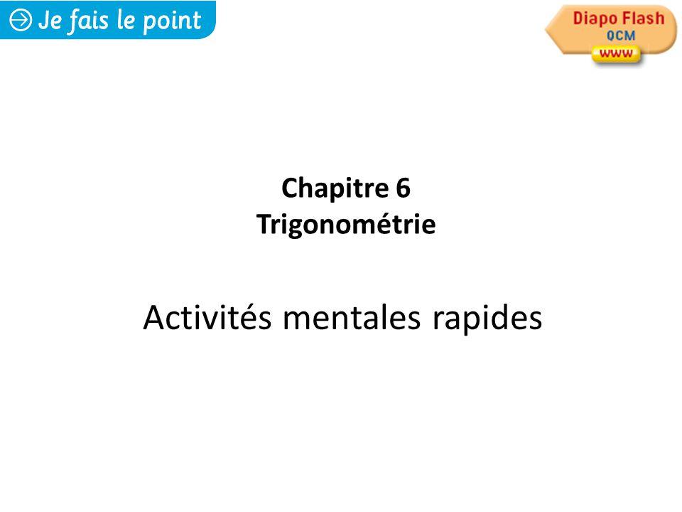 Activités mentales rapides
