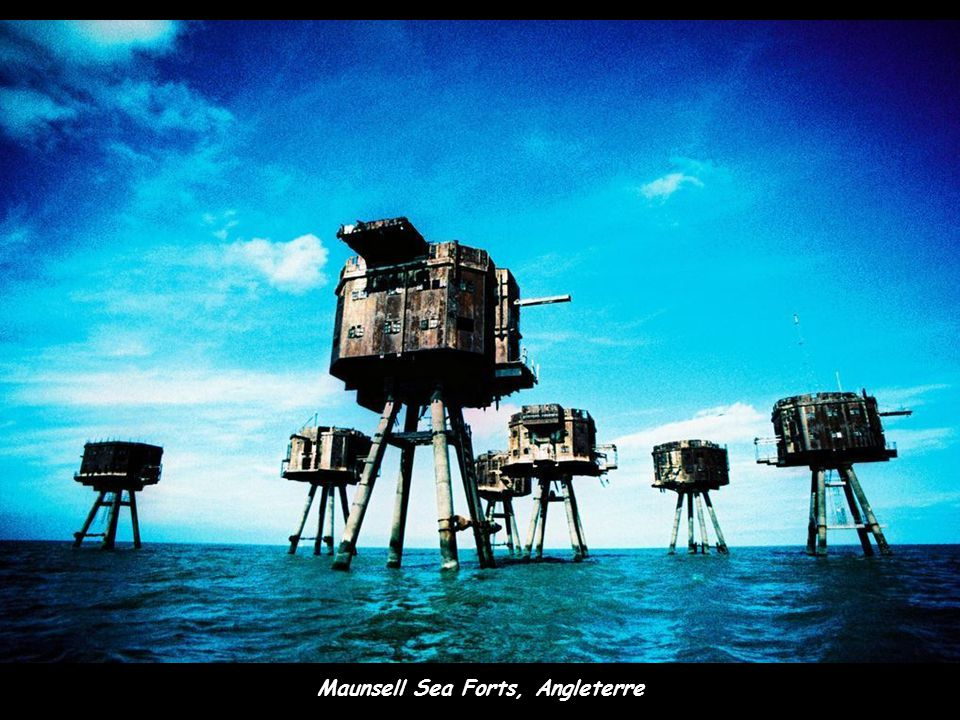 Maunsell Sea Forts, Angleterre