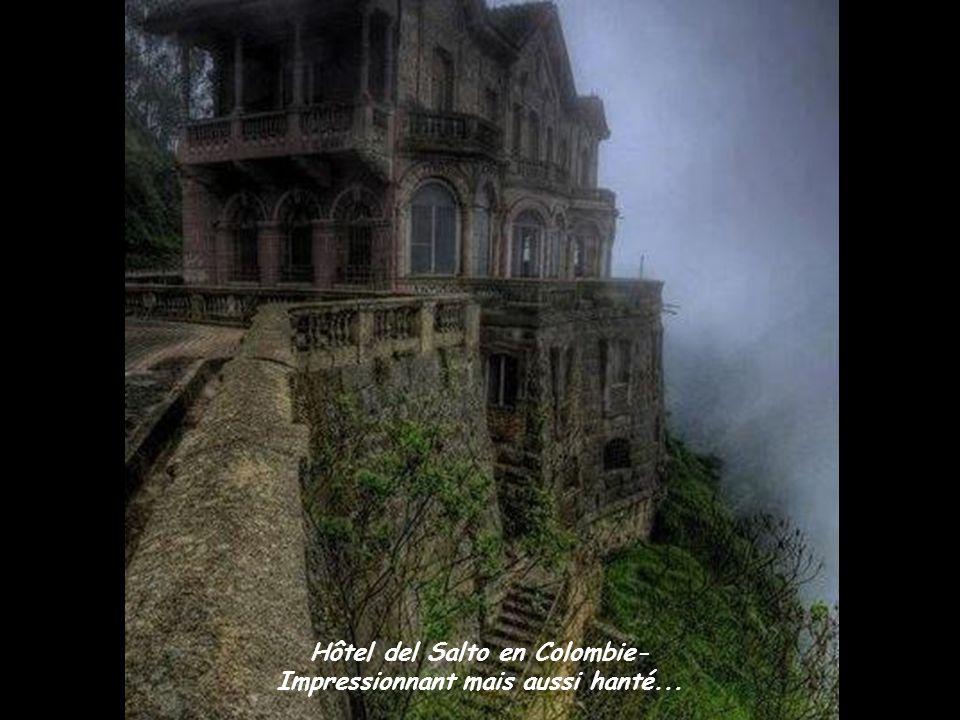Hôtel del Salto en Colombie- Impressionnant mais aussi hanté...
