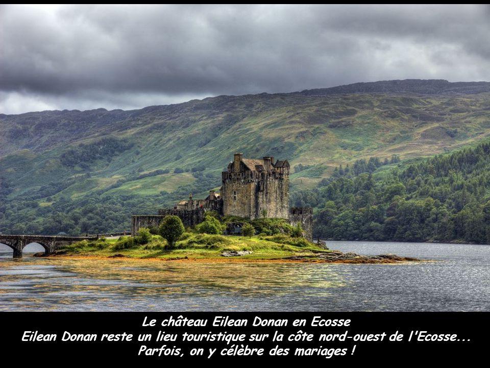 Le château Eilean Donan en Ecosse