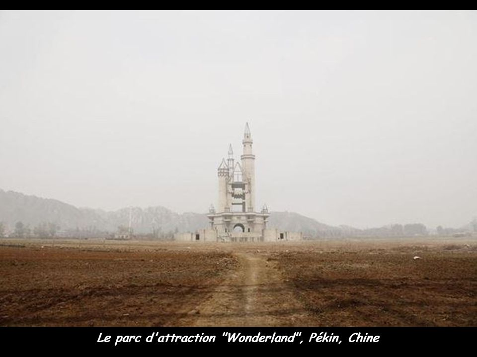 Le parc d attraction Wonderland , Pékin, Chine