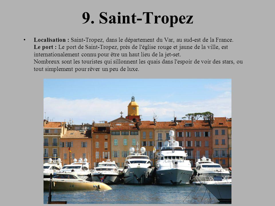 9. Saint-Tropez