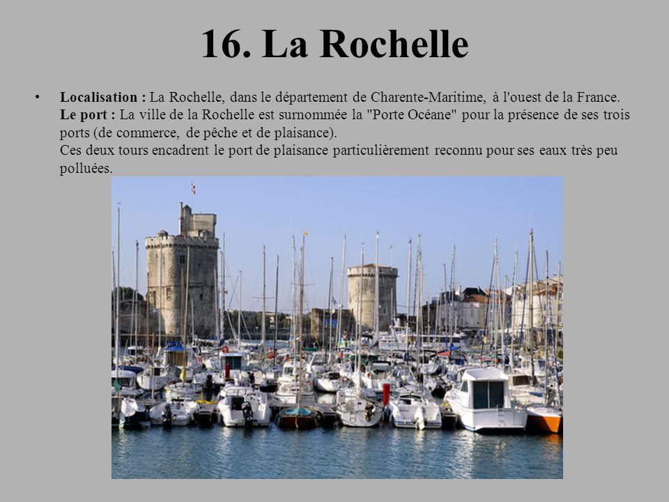 16. La Rochelle