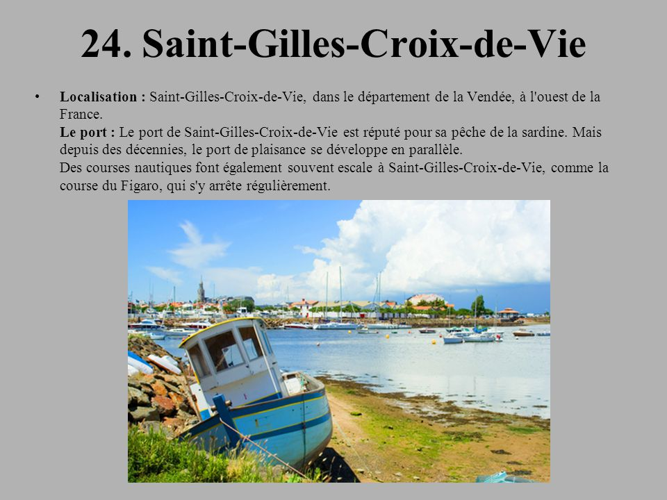 24. Saint-Gilles-Croix-de-Vie