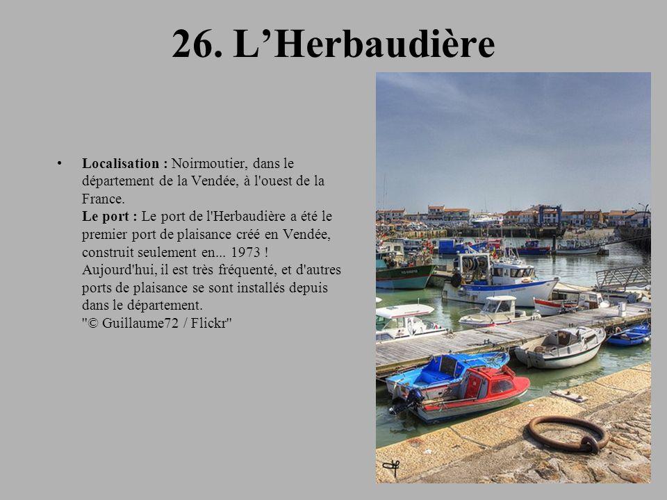 26. L'Herbaudière