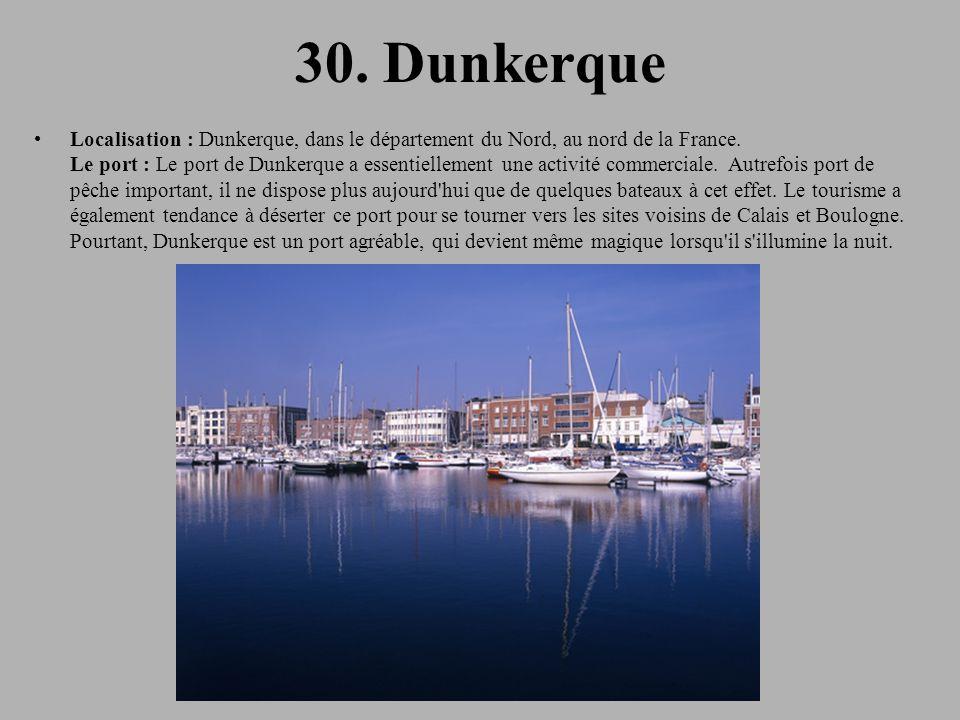 30. Dunkerque