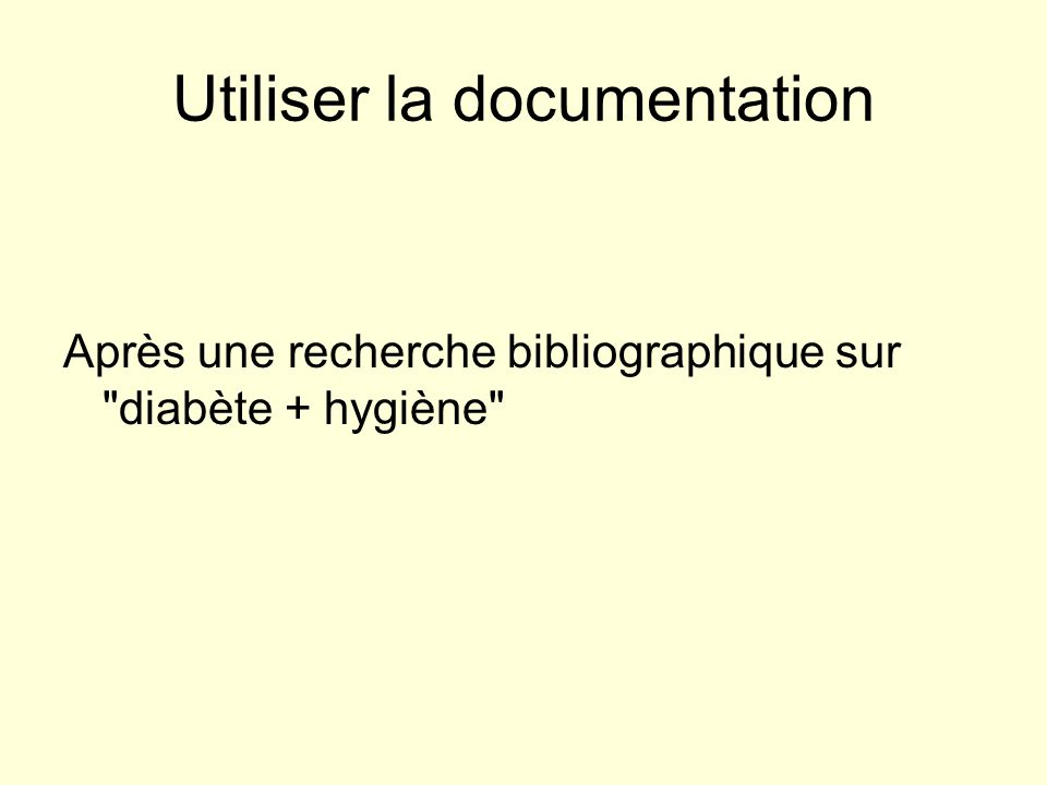 Utiliser la documentation