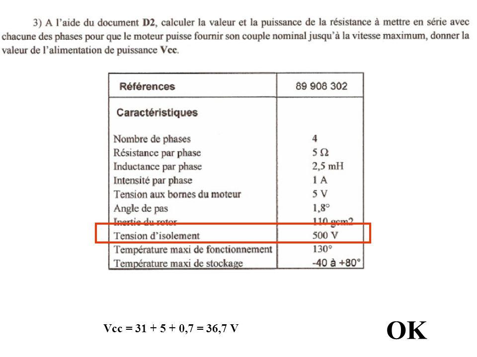 OK Vcc = 31 + 5 + 0,7 = 36,7 V