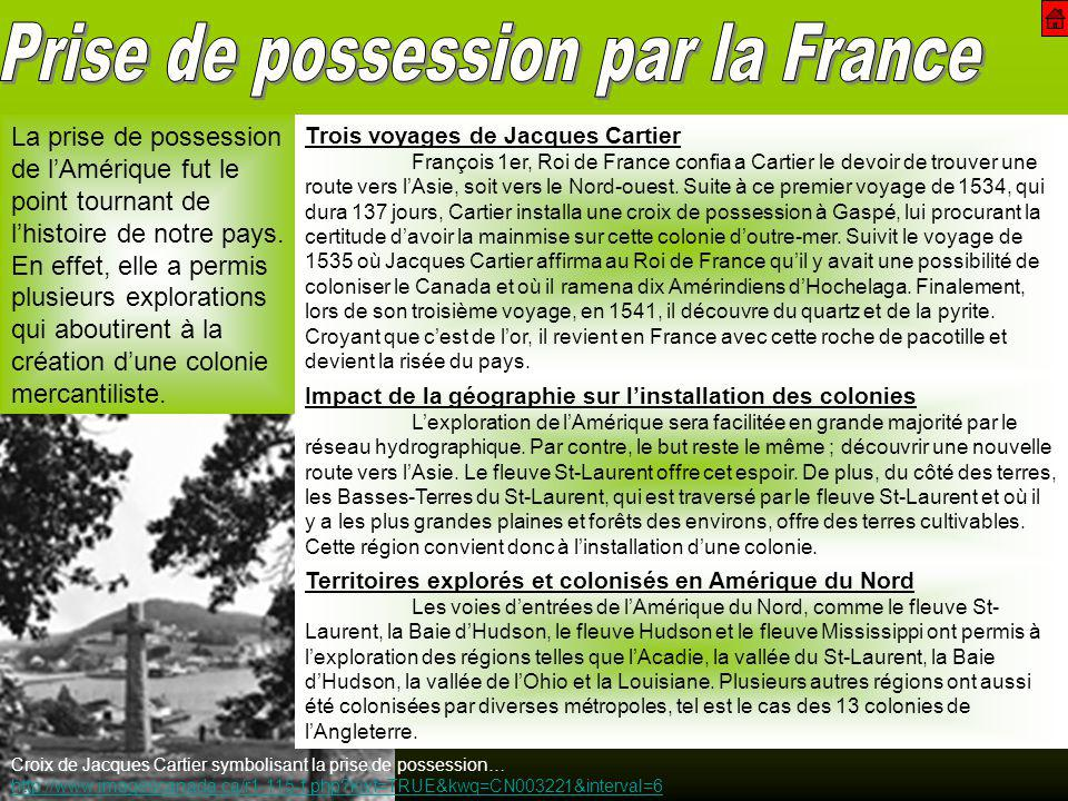 Prise de possession par la France