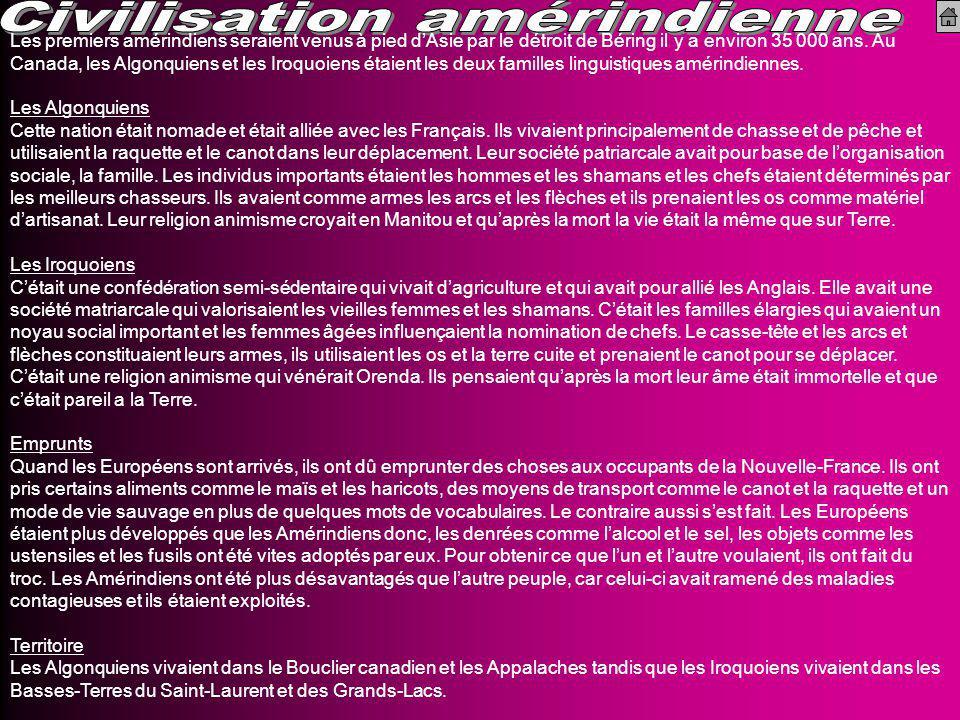 Civilisation amérindienne