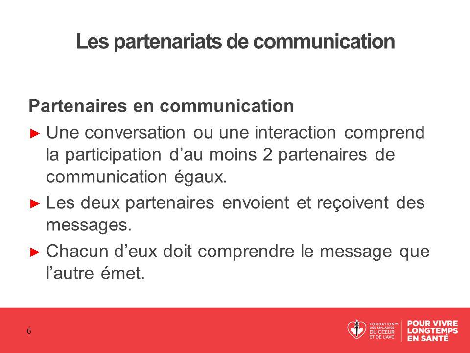 Les partenariats de communication