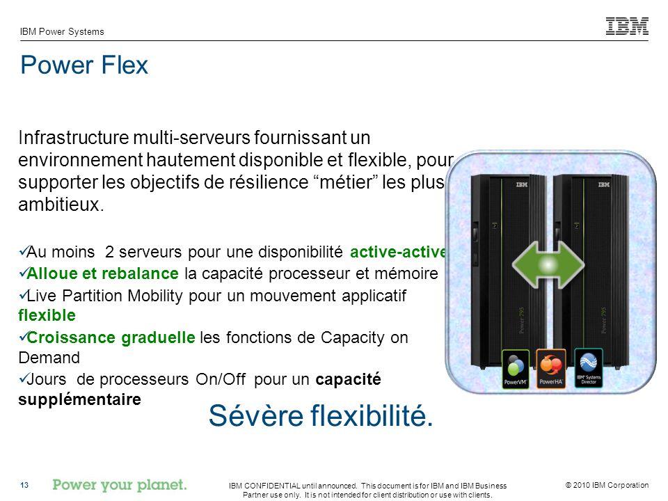 Sévère flexibilité. Power Flex