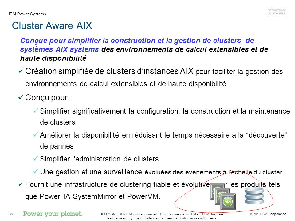 Cluster Aware AIX