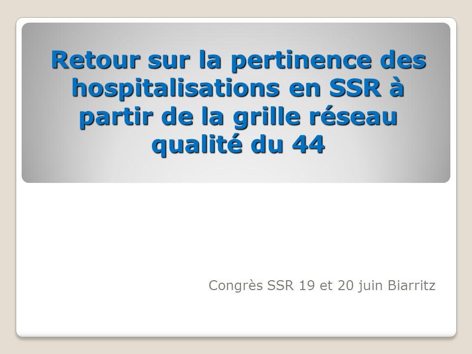 Congrès SSR 19 et 20 juin Biarritz