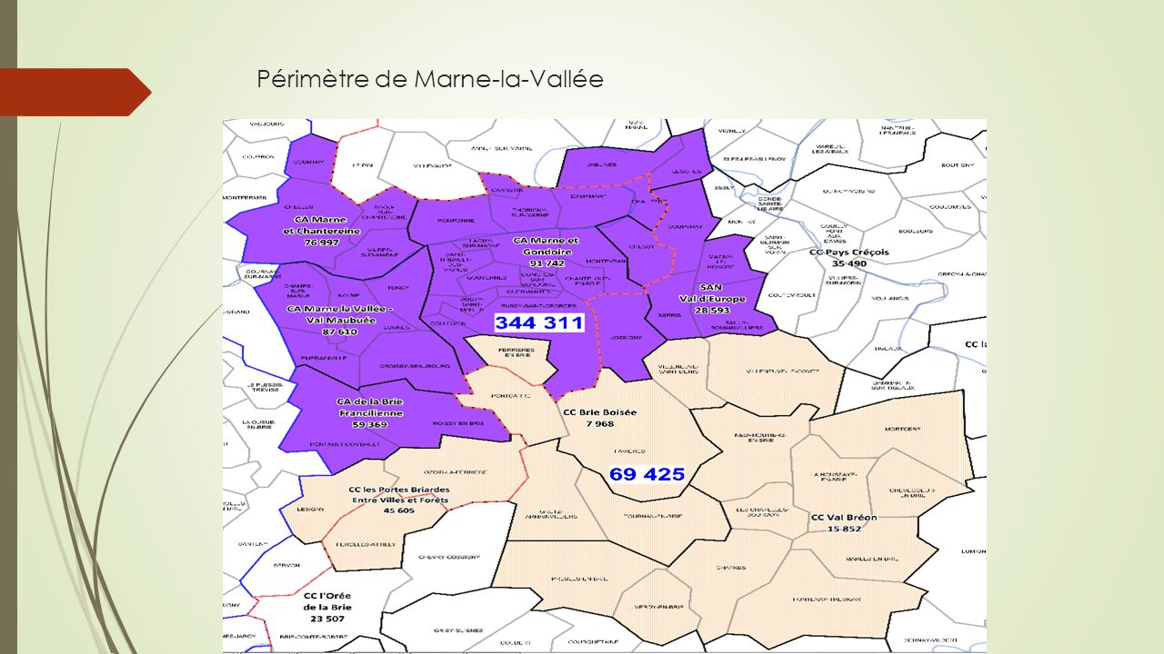 Périmètre de Marne-la-Vallée