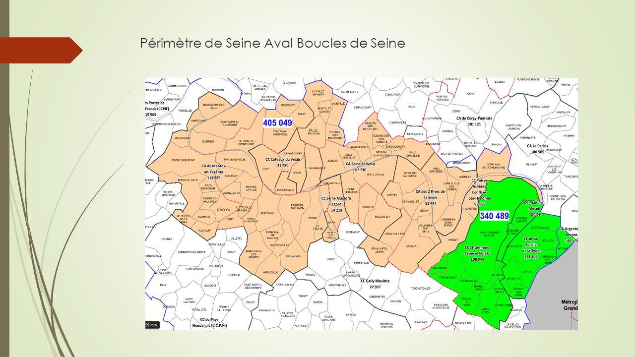 Périmètre de Seine Aval Boucles de Seine