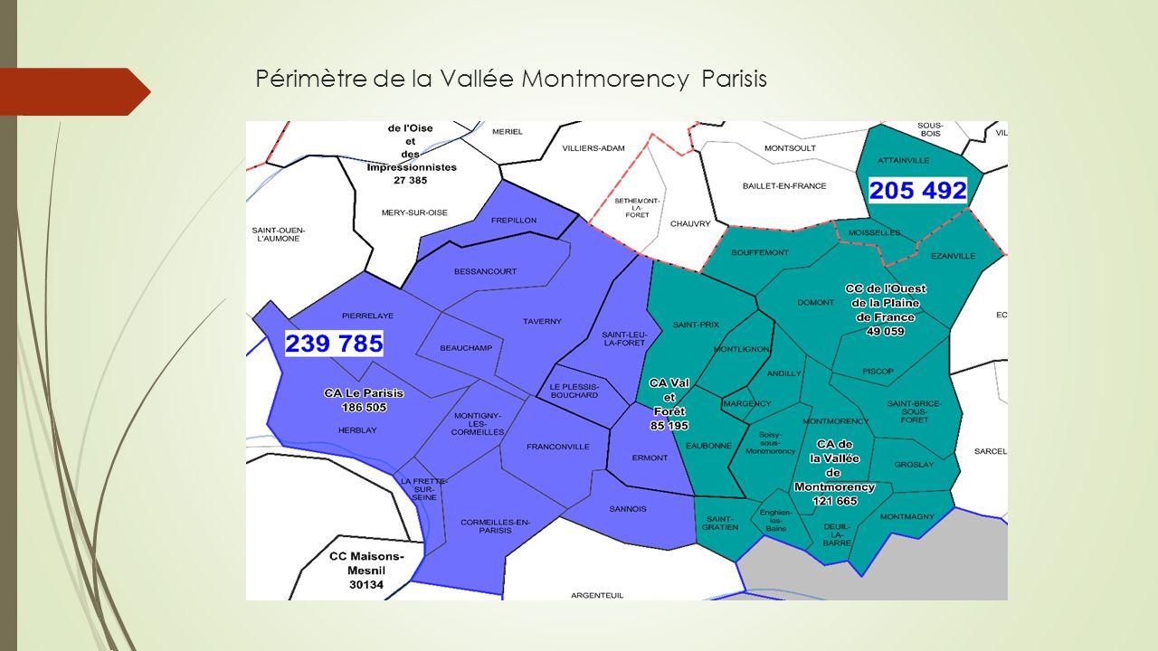 Périmètre de la Vallée Montmorency Parisis