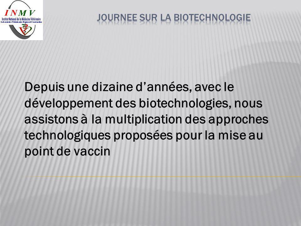 JOURNEE SUR LA BIOTECHNOLOGIE