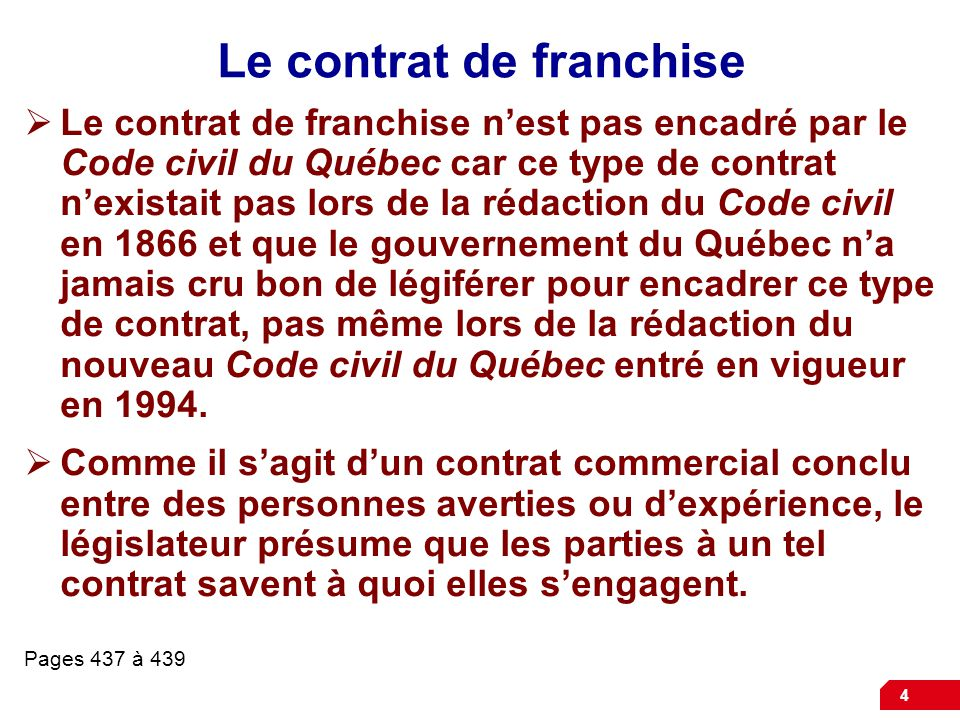article 1456 code civil quebec