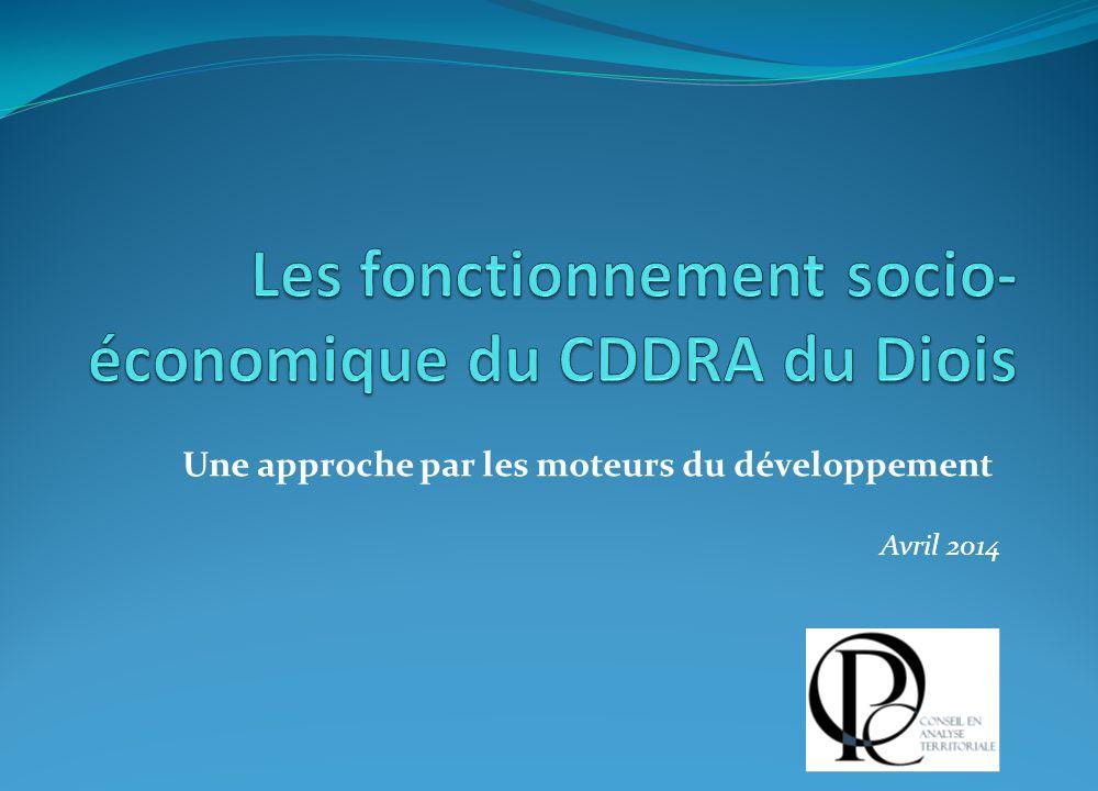 Les fonctionnement socio-économique du CDDRA du Diois