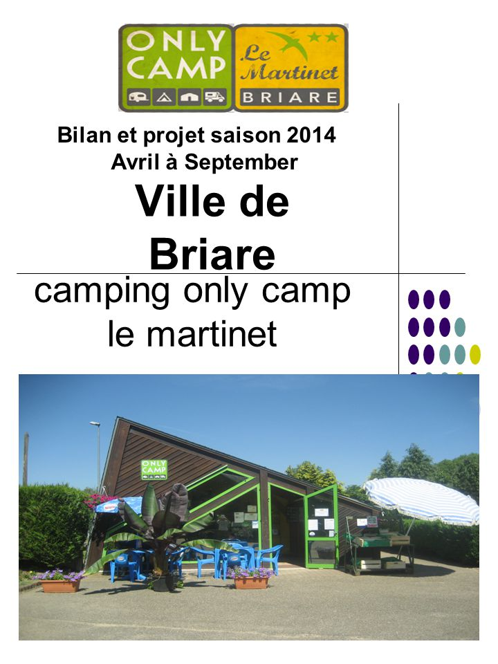 camping only camp le martinet