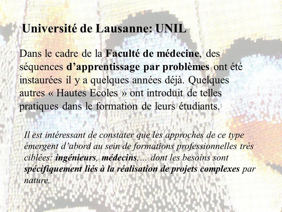 Université de Lausanne: UNIL