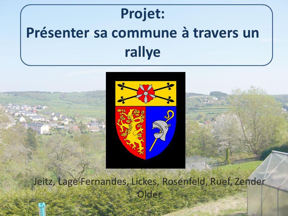 Projet: Présenter sa commune à travers un rallye