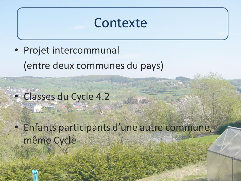 Contexte Projet intercommunal (entre deux communes du pays)