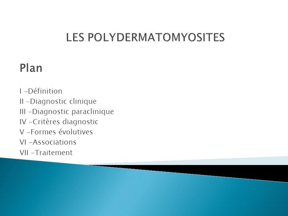 LES POLYDERMATOMYOSITES