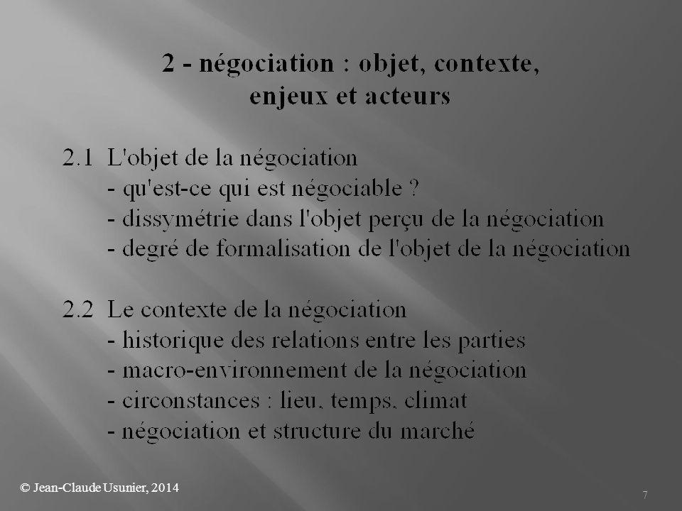 © Jean-Claude Usunier, 2014