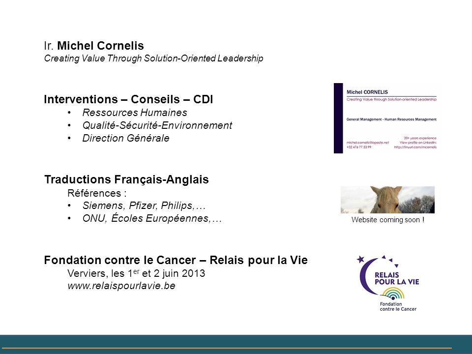 Interventions – Conseils – CDI