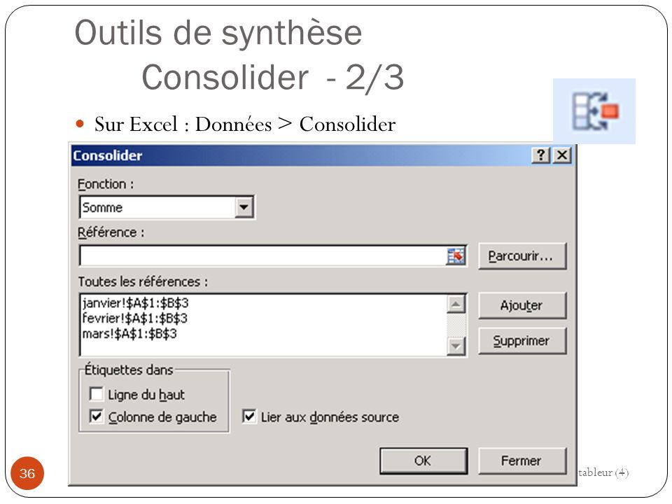 Outils de synthèse Consolider - 2/3