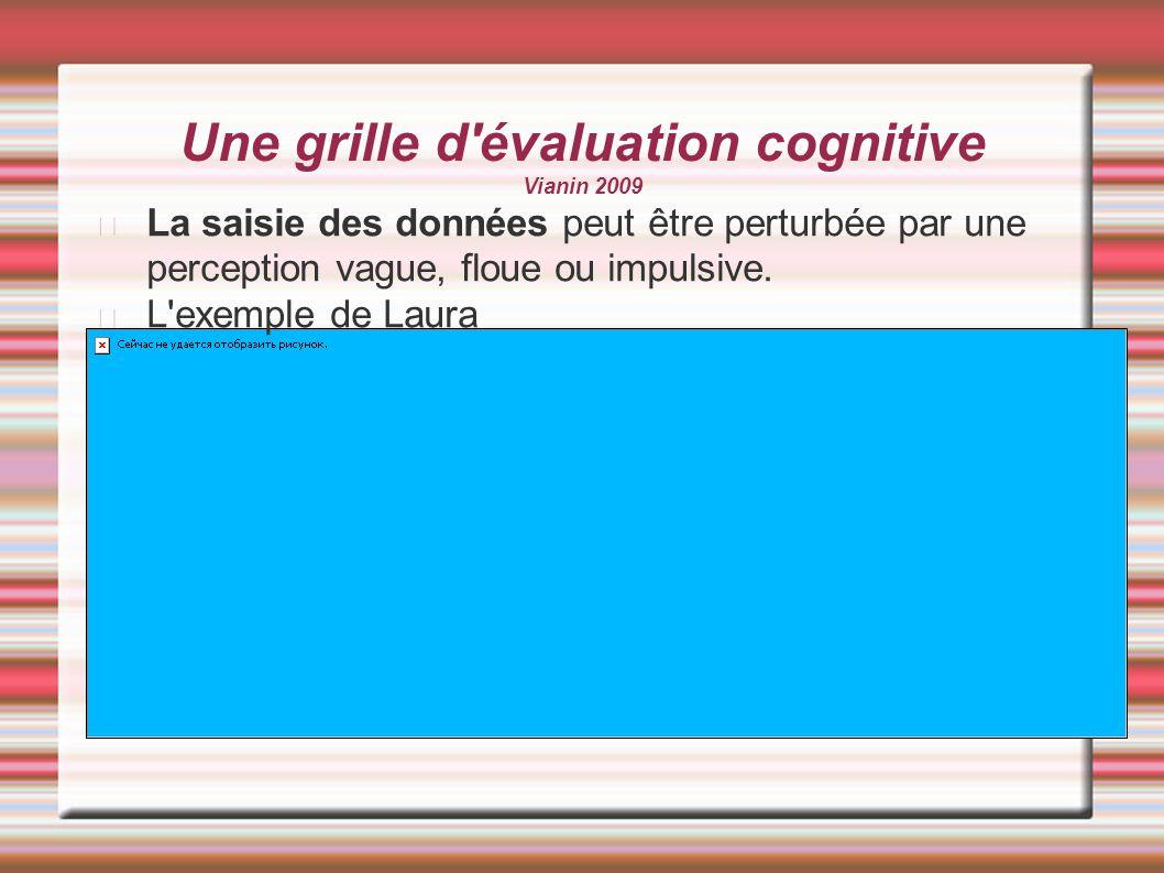 Une grille d évaluation cognitive Vianin 2009