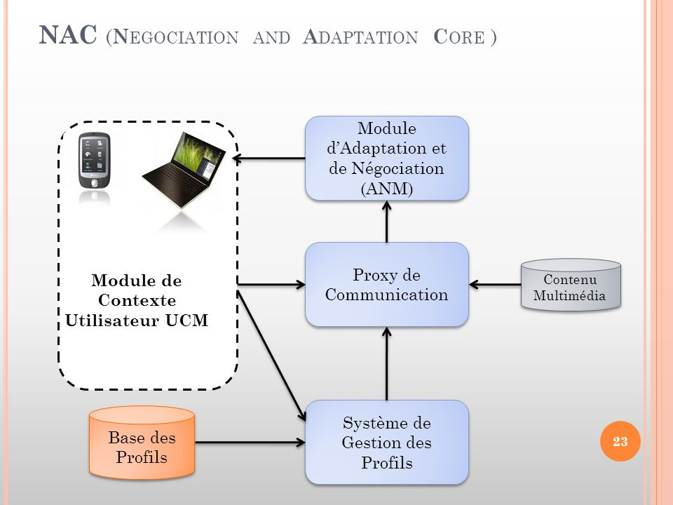 NAC (Negociation and Adaptation Core )