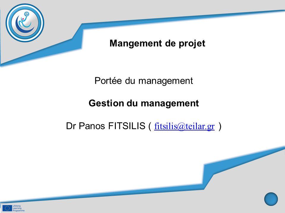 Dr Panos FITSILIS ( fitsilis@teilar.gr )