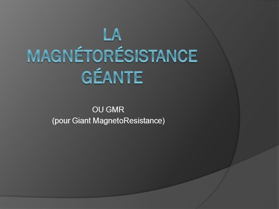 La magnétorésistance géante