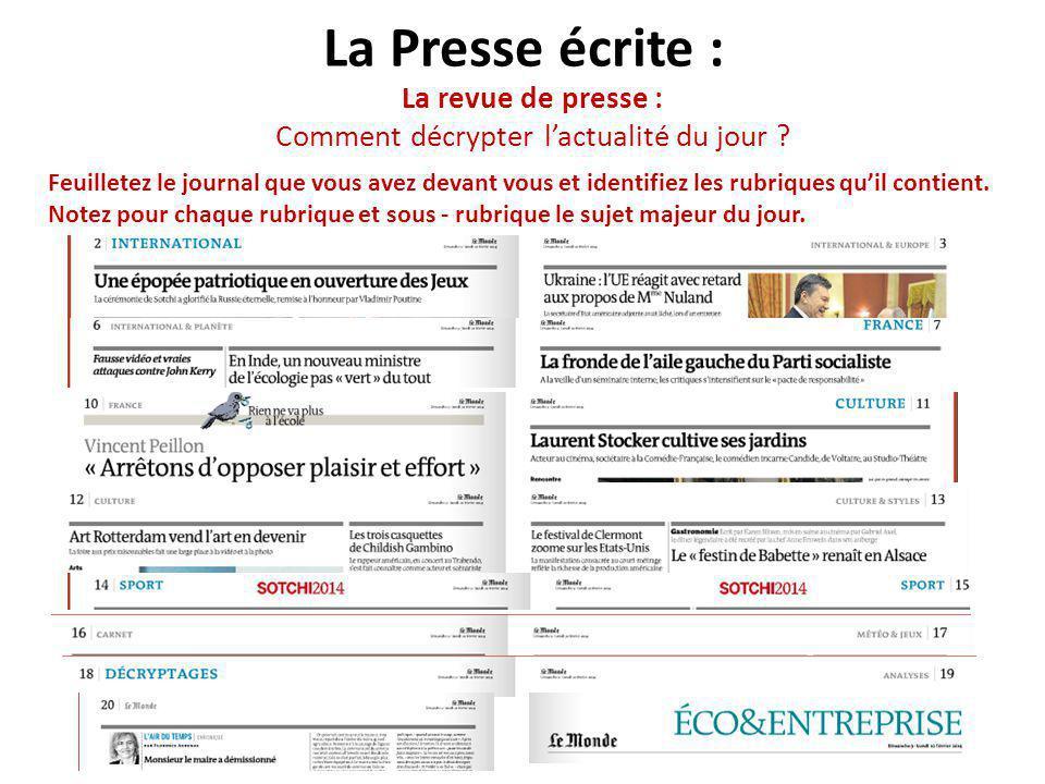 La revue de presse : Comment décrypter l'actualité du jour
