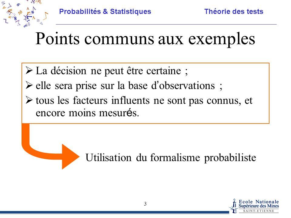 Points communs aux exemples