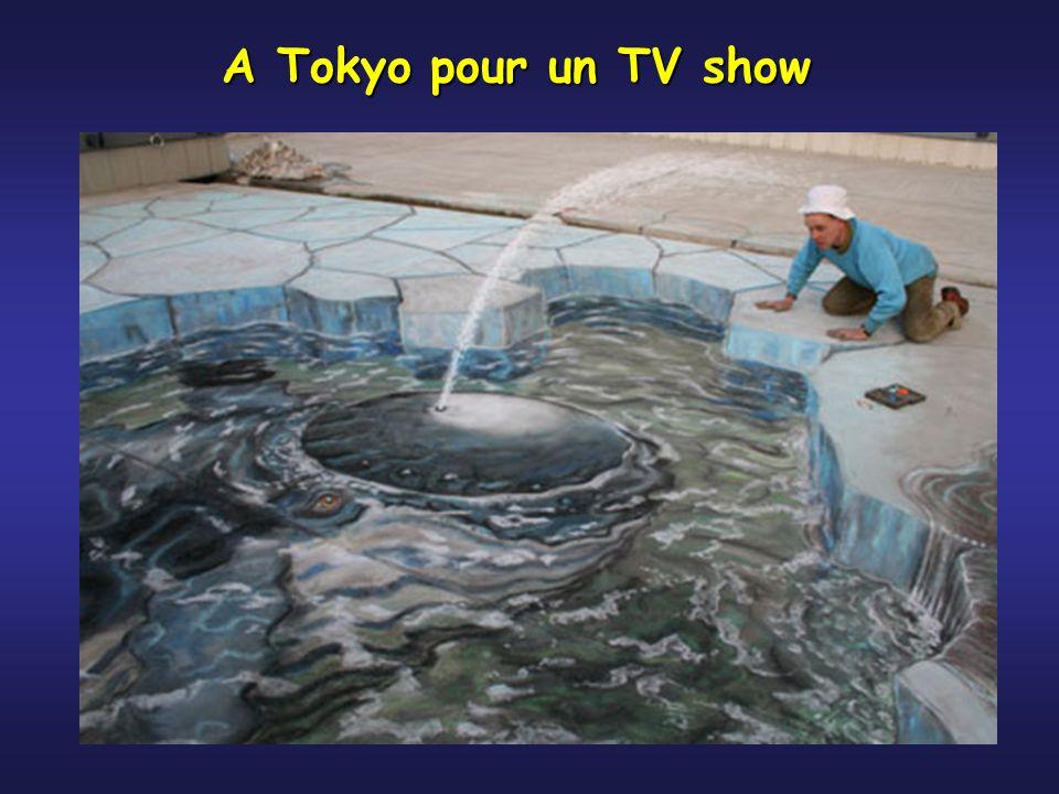 A Tokyo pour un TV show