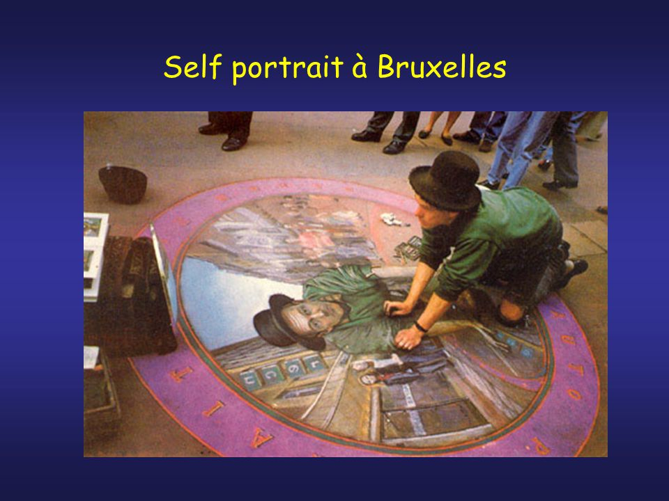 Self portrait à Bruxelles