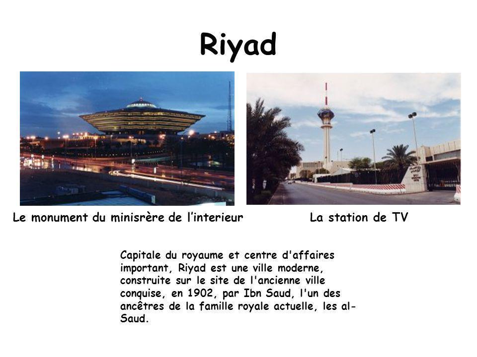 carte arabie saoudite villes